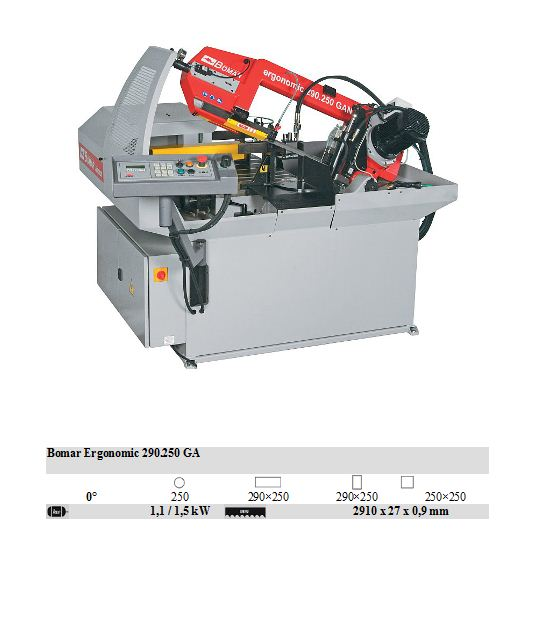 Ergonomic 290.250 GA