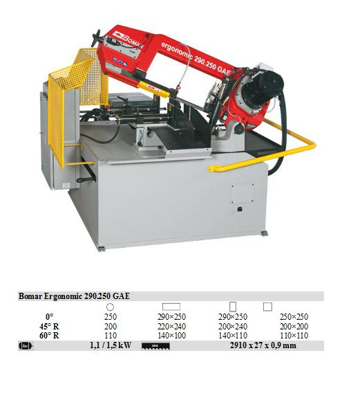 Ergonomic 290.250 GAE