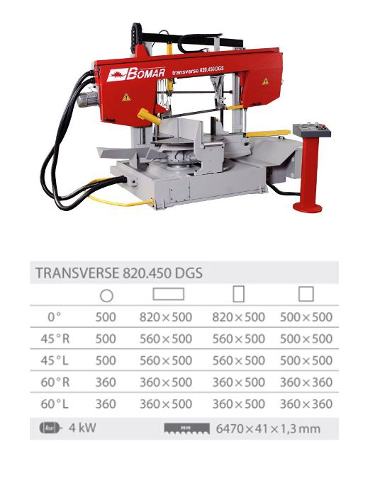 Transverse 820.450DGS