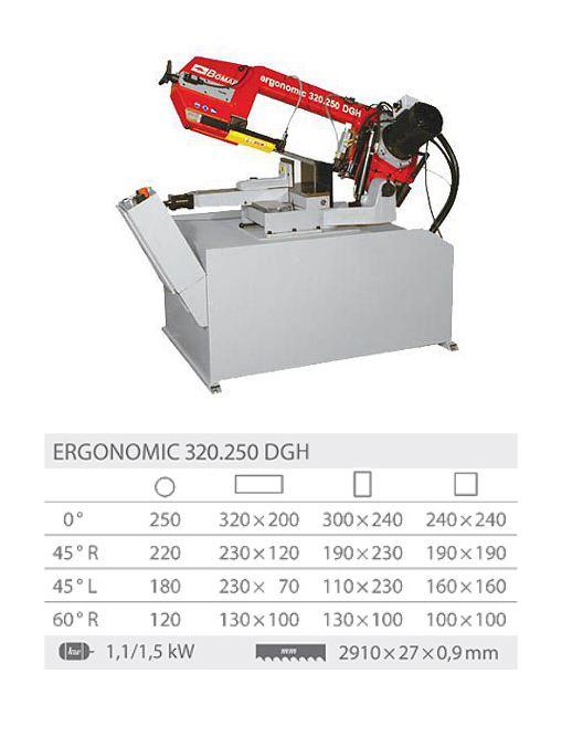 Ergonomic 320.250DGH