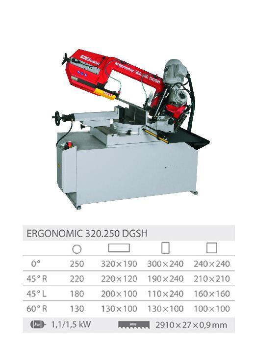 Ergonomic 320.250DGSH